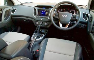 Comfort and style in the interior of the Hyundai interior