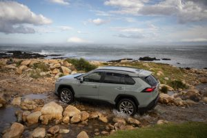While it is larger than previous models, the RAV4 is more of a softroader